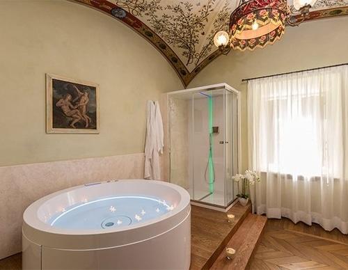 Camere vasca idromassaggio Toscana