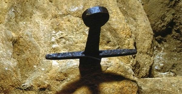 Spada nella roccia Chiusdino