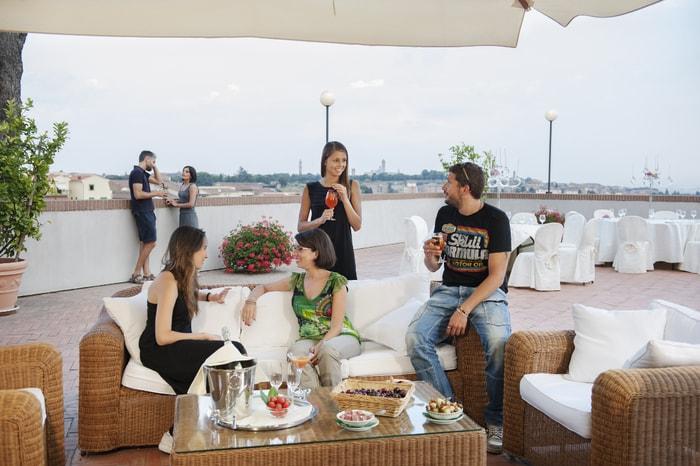 Hotel con vista Siena
